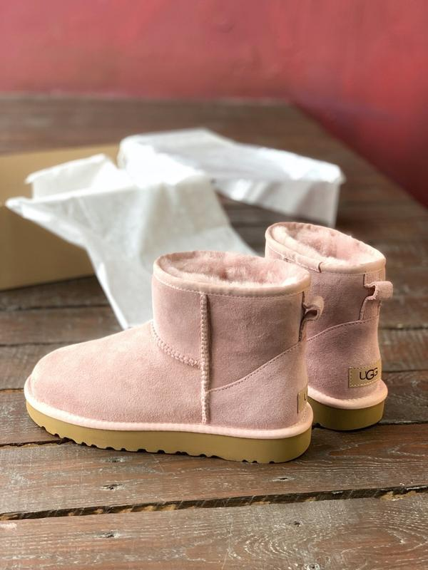😊ugg classic ii mini pink🤗 женские сапоги угги розовые зимние ...