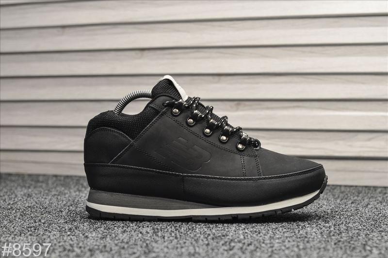 😊new balance 574 black🤗 мужские ботинки с мехом на зиму зимние...