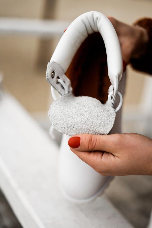 😊timberland white 🤗 женские ботинки тимберленд белые термо осе... - Фото 2