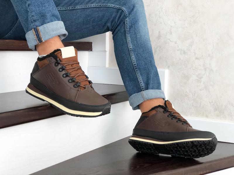 😊new balance 754 🤗 мужские ботинки зимние с мехом зима - Фото 3