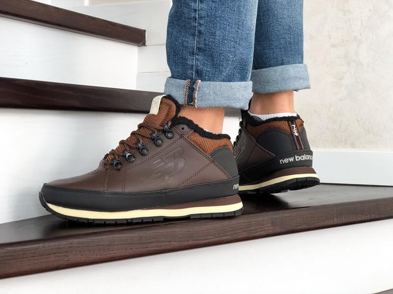 😊new balance 754 🤗 мужские ботинки зимние с мехом зима - Фото 4