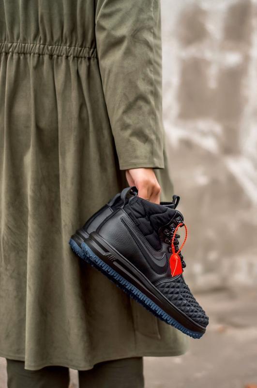 😊lunar force 2 duckboot black🤗 женские кроссовки найк осень зима