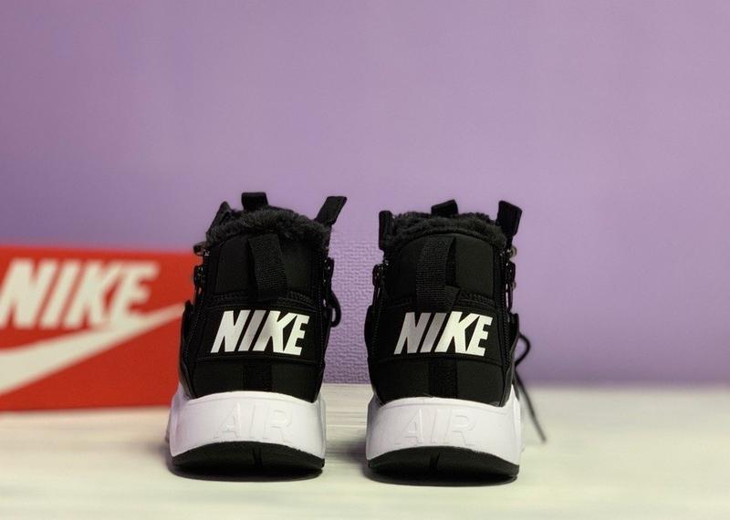 😊nike air huarache x acronym black white🤗 женские кроссовки с ... - Фото 2