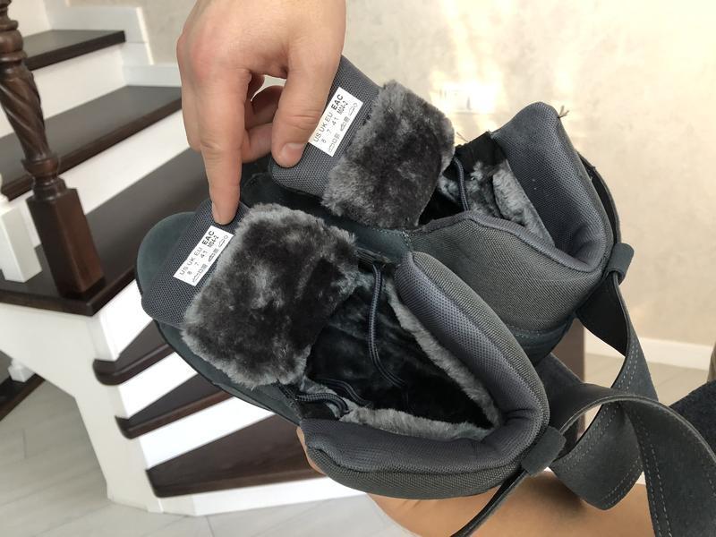 😊puma suede high winter🤗 мужские зимние кроссовки с мехом высо... - Фото 2