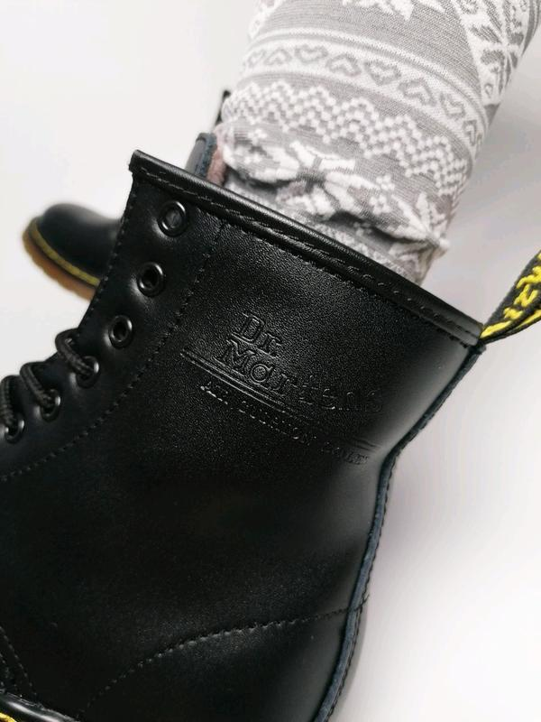 😊dr. martens 1460 black fur🤗 женские зимние ботинки мартинс чё... - Фото 4