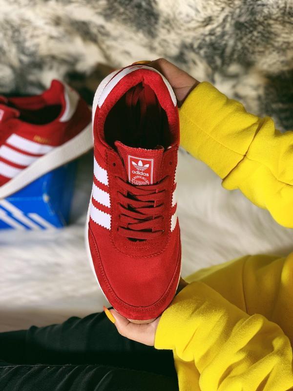 Распродажа! 😊adidas iniki red красные🤗 мужские кроссовки красн... - Фото 3