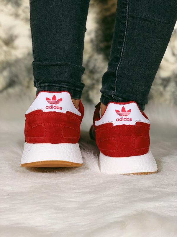 Распродажа! 😊adidas iniki red красные🤗 мужские кроссовки красн... - Фото 5