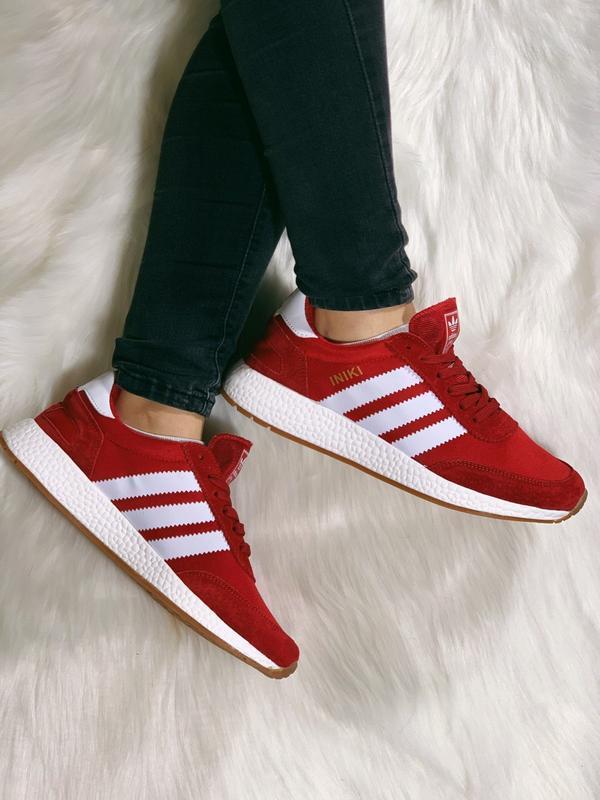 Распродажа! 😊adidas iniki red красные🤗 мужские кроссовки красн... - Фото 6