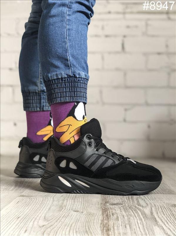 😊adidas yeezy boost 700 winter🤗 мужские зимние кроссовки с мех...