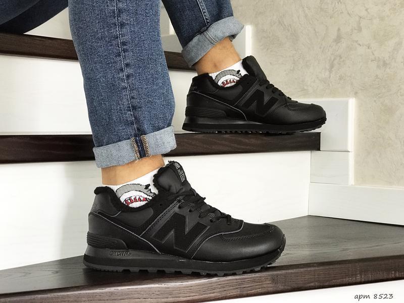😊new balance 574 winter🤗 мужские зимние кроссовки с мехом зима