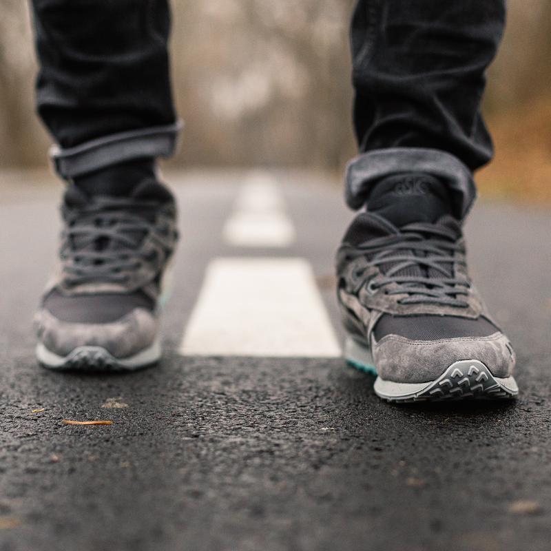 😊asics gey lyte 3 winter grey mint🤗 мужские демисезонные кросс... - Фото 5