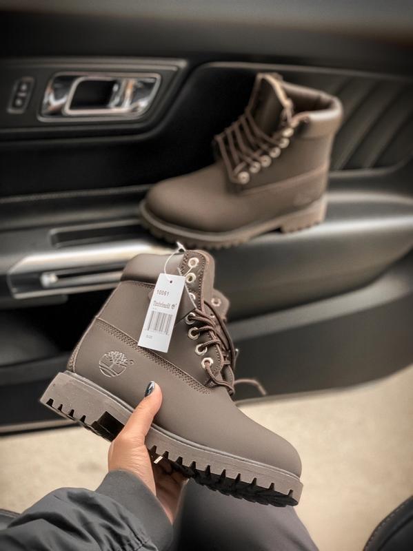 Timberland brown fur 🤗 мужские зимние ботинки с мехом тимберле...
