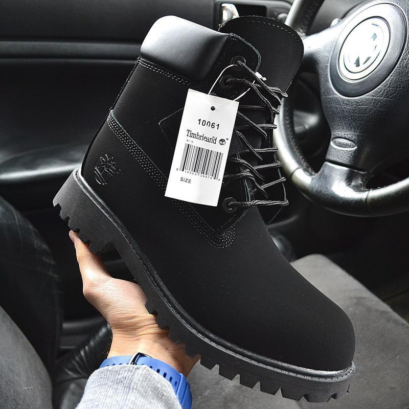 Ботинки timberland с мехом🤗 мужские зимние ботинки тимбрленд ч...