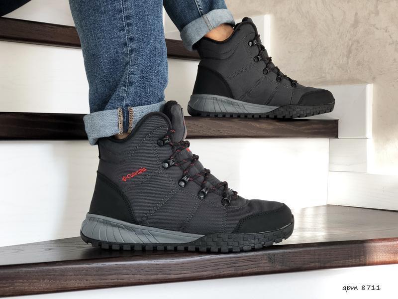 Columbia🤗 мужские зимние ботинки с мехом зима