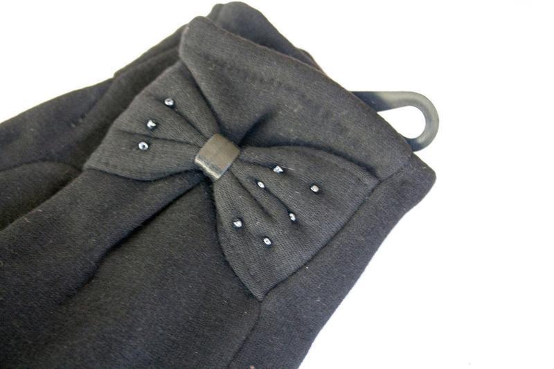 Перчатки стрейч на меху, разные размеры - Фото 5
