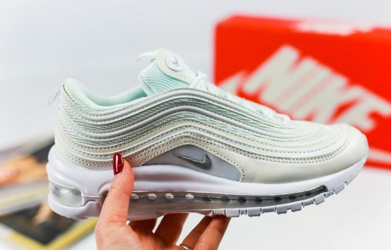 Женские кроссовки nike air max 97 white