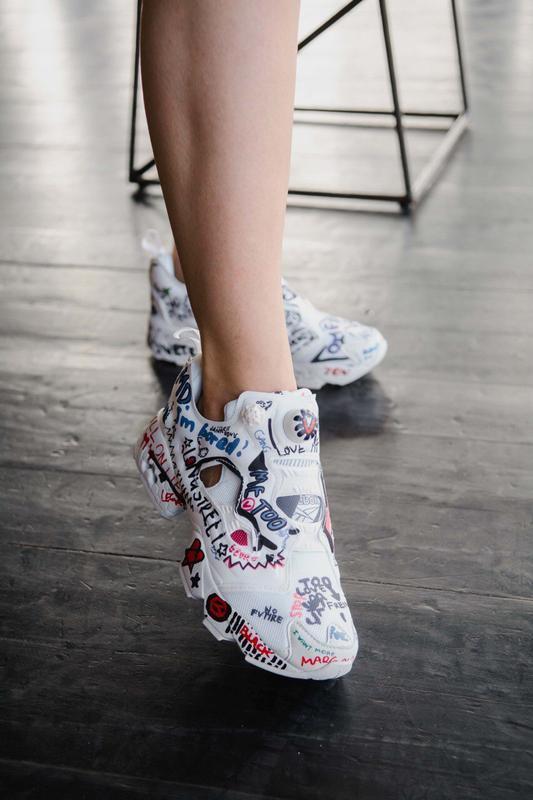 Шикарные женские кроссовки puma insta pump