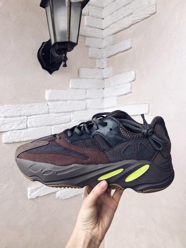 Шикарные мужские кроссовки adidas yeezy boost 700 mauve