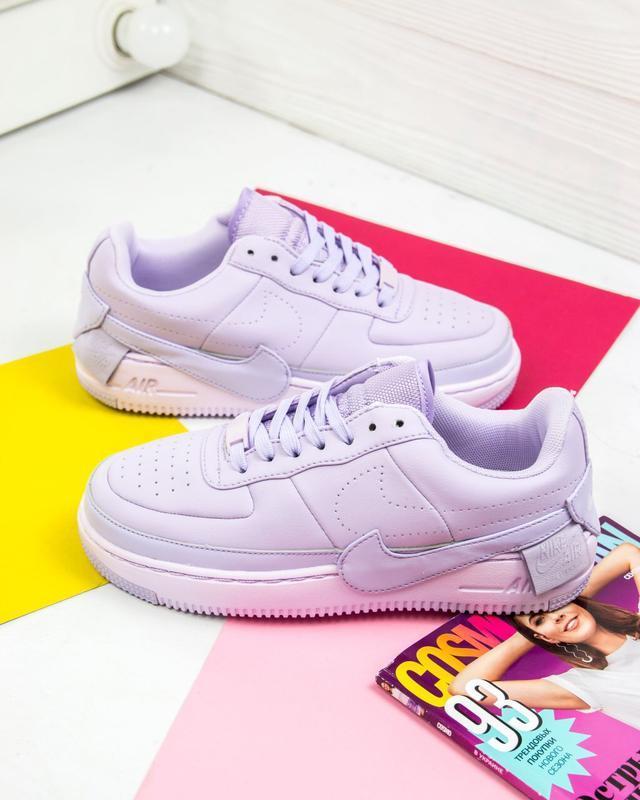 Шикарные женские кроссовки nike air force jester violet mist