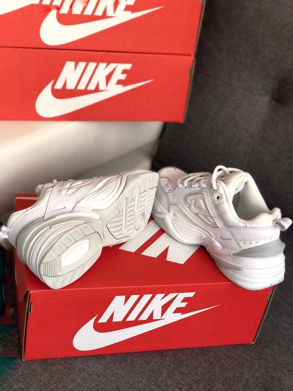 Шикарные женские кроссовки nike m2k tekno white