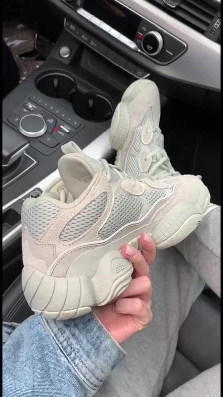 Шикарные кроссовки adidas  yeezy boost 500 salt - Фото 6