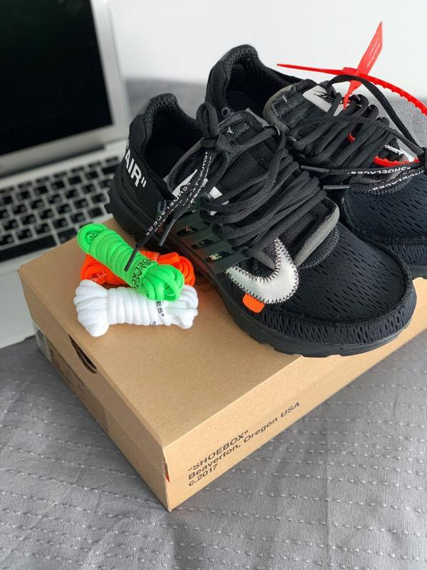 Шикарные мужские кроссовки nike air presto black - Фото 3