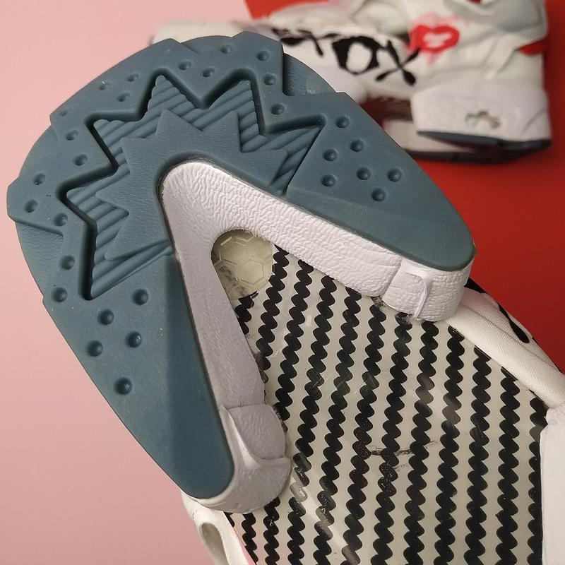 Шикарные женские кроссовки reebok insta pump xoxo - Фото 5