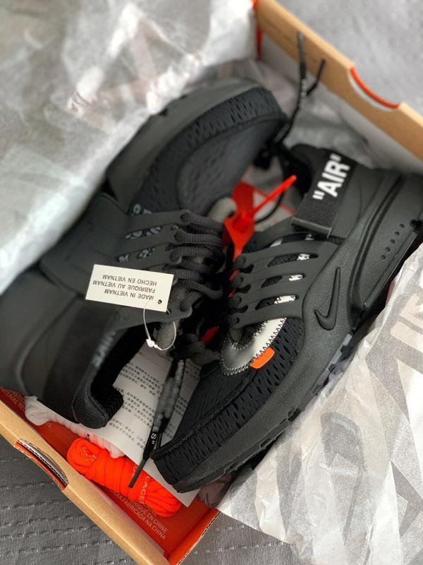 Шикарные мужские кроссовки nike air presto black - Фото 4