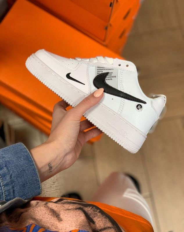 Шикарные женские кроссовки nike air force 1 low white
