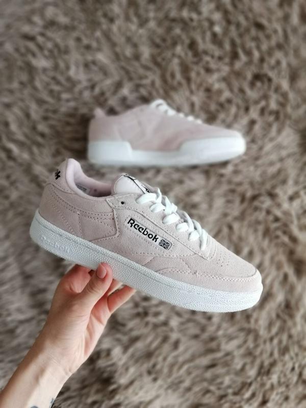 Шикарные женские кроссовки reebok pink