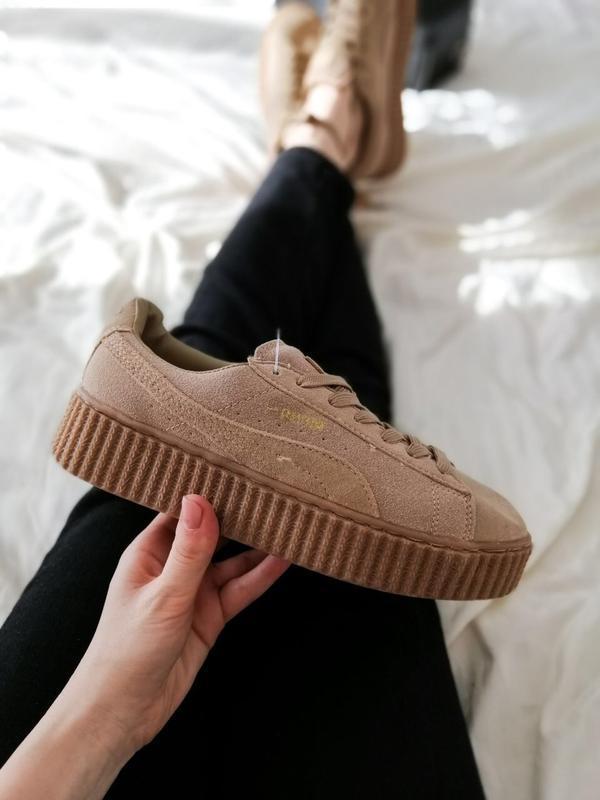 Шикарные женские кроссовки puma