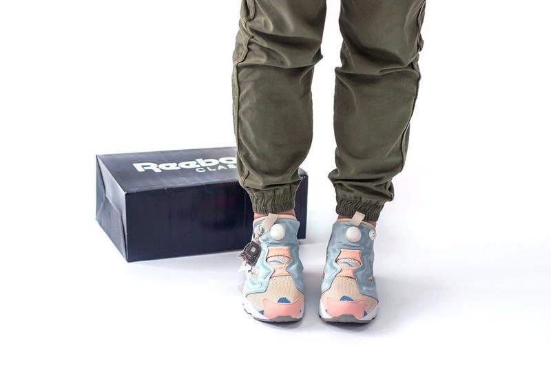 Шикарные женские кроссовки reebok insta pump - Фото 3
