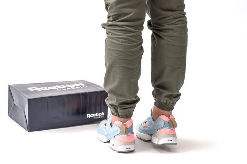 Шикарные женские кроссовки reebok insta pump - Фото 4