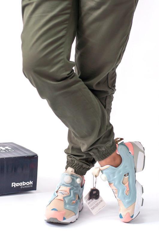 Шикарные женские кроссовки reebok insta pump - Фото 5