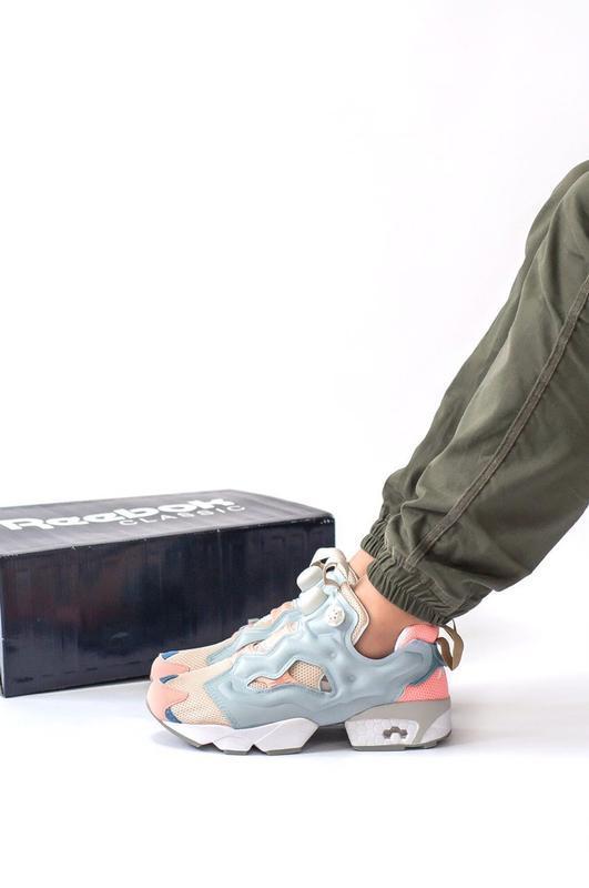 Шикарные женские кроссовки reebok insta pump - Фото 6