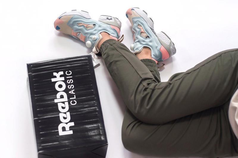 Шикарные женские кроссовки reebok insta pump - Фото 7