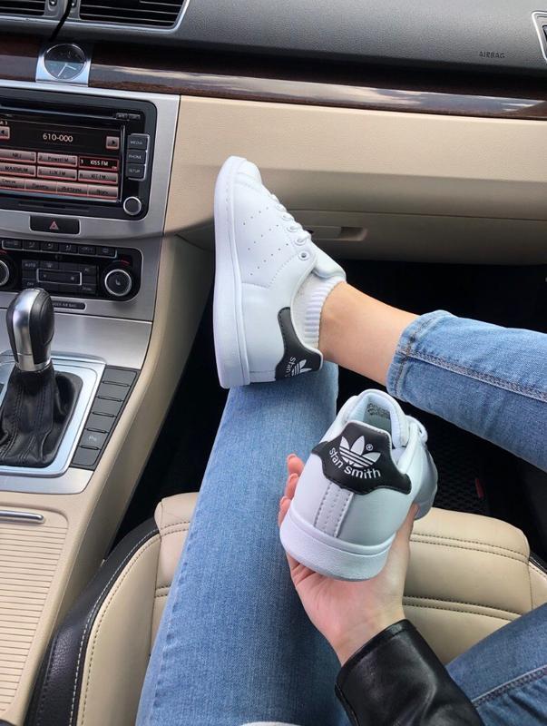 Шикарные женские кроссовки adidas stan smith - Фото 2