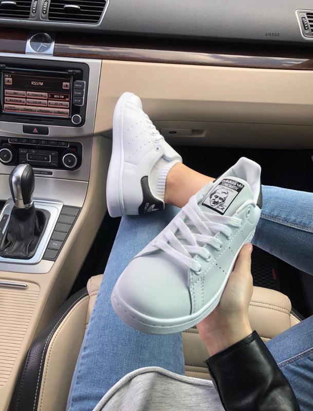 Шикарные женские кроссовки adidas stan smith - Фото 3