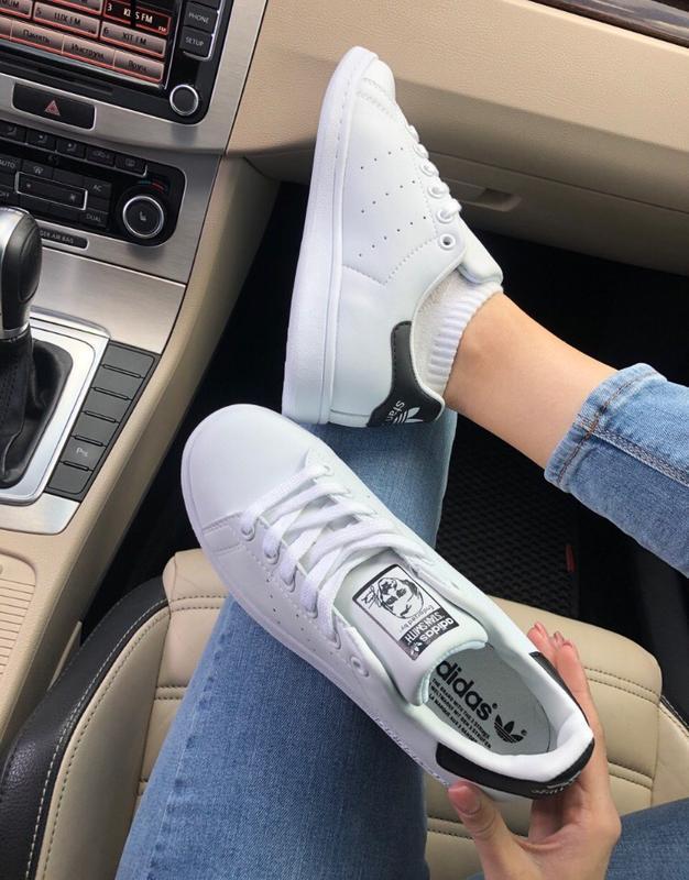 Шикарные женские кроссовки adidas stan smith - Фото 4