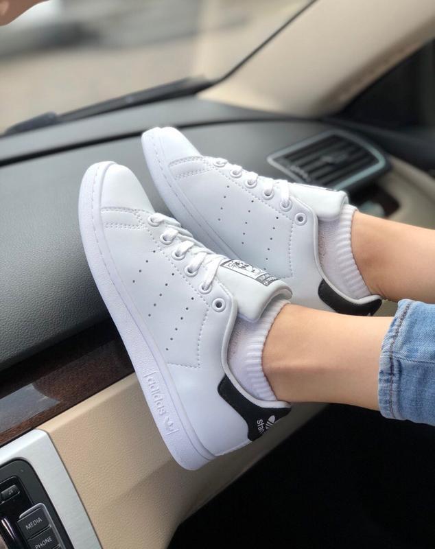 Шикарные женские кроссовки adidas stan smith - Фото 5