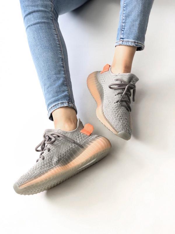 Шикарные женские кроссовки adidas yeezy boost 350 - Фото 3