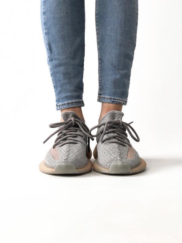 Шикарные женские кроссовки adidas yeezy boost 350 - Фото 4