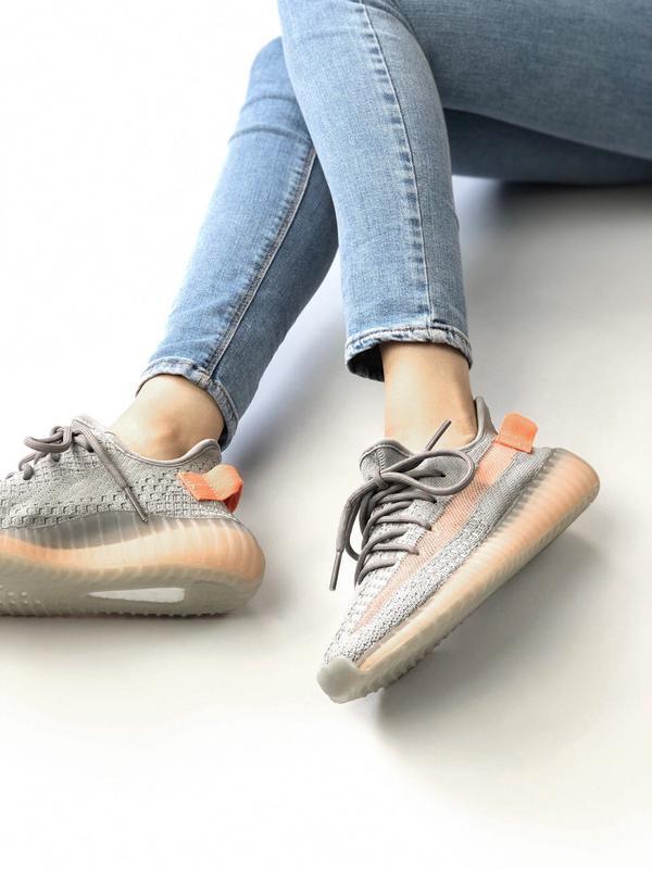 Шикарные женские кроссовки adidas yeezy boost 350 - Фото 5