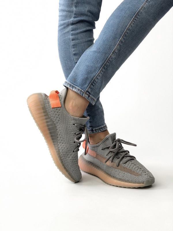 Шикарные женские кроссовки adidas yeezy boost 350 - Фото 6