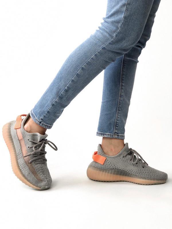 Шикарные женские кроссовки adidas yeezy boost 350 - Фото 7