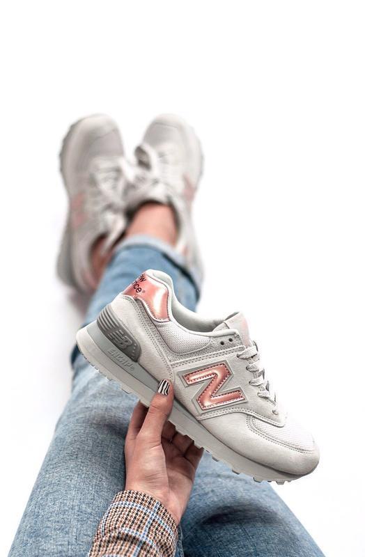 Шикарные женские кроссовки new balance 574