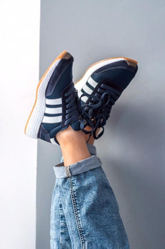 Шикарные женские кроссовки adidas iniki - Фото 2