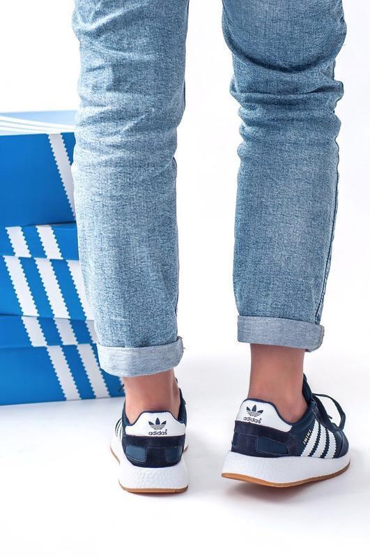 Шикарные женские кроссовки adidas iniki - Фото 4