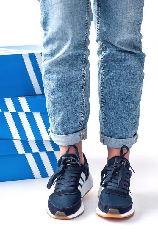 Шикарные женские кроссовки adidas iniki - Фото 5