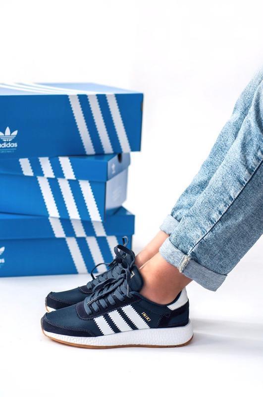 Шикарные женские кроссовки adidas iniki - Фото 6